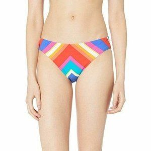 Trina Turk Sunset Chevron Striped Bikini Bottoms